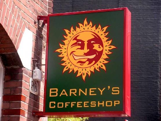 Amsterdam's coffeeshop Barney's
