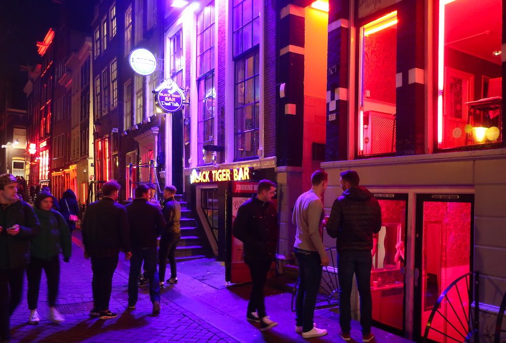 red light district tour