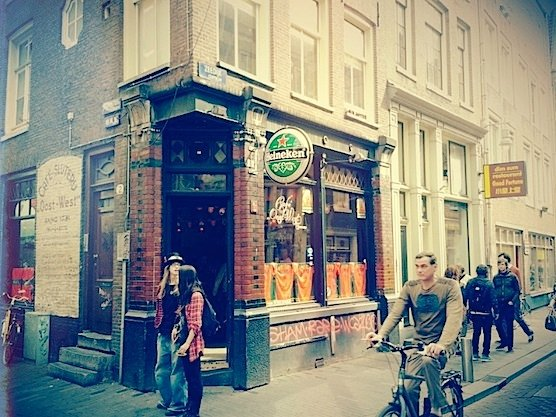 Cafe Oost-West in Amsterdam