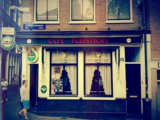 Cafe Pleinzicht in Amsterdam