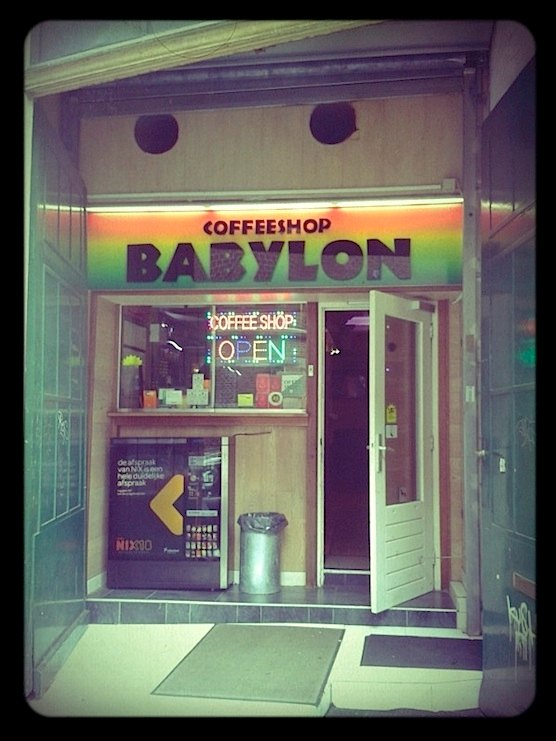 Coffeeshop Babylon in Amsterdam
