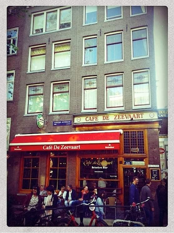 Cafe de Zeevaart in Amsterdam