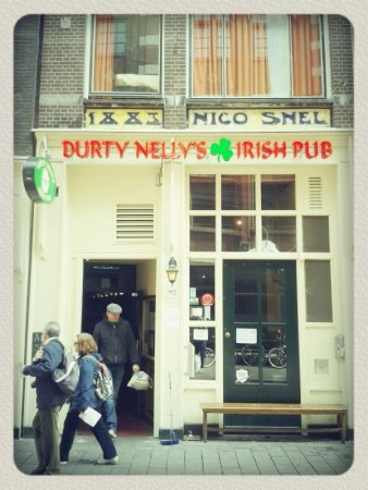 Irish pub Durty Nelly's in Amsterdam
