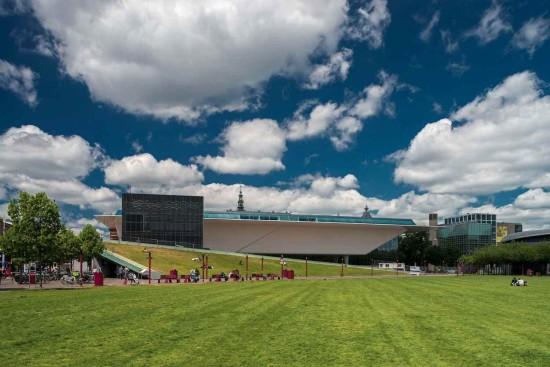 Amsterdam's Stedelijk Museum Exterior