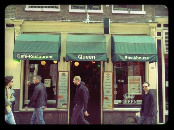 Cafe-Restaurant Queen in Amsterdam