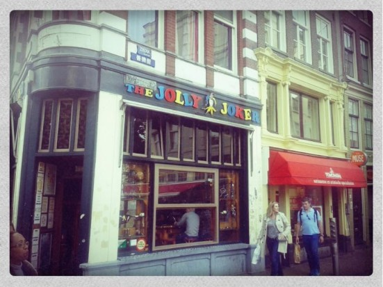 Amsterdam's Coffeeshop The Jolly Joker