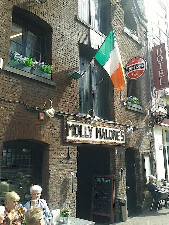 Cafe Molly Malones in Amsterdam