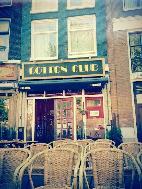 Cafe Cotton Club in Amsterdam.