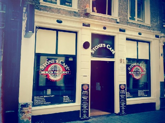 Cafe Stones in Amsterdam's Red Light District