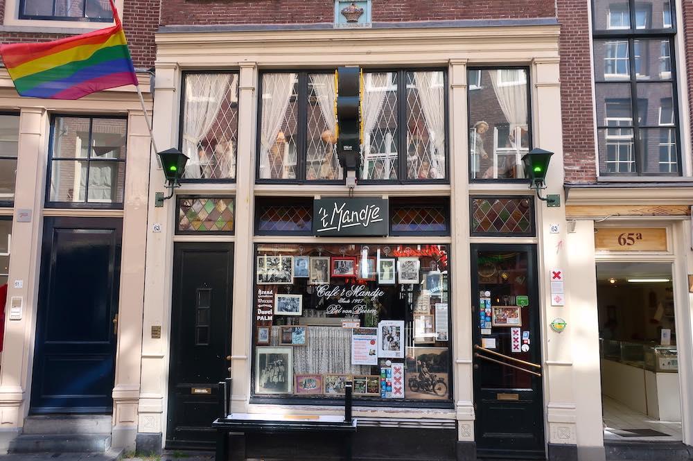 cafe t mandje amsterdam red light district