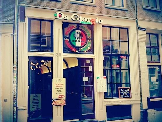 Restaurant Da Giorgio in Amsterdam