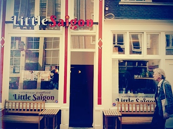 Restaurant Little Saigon In Amsterdam S Red Light District