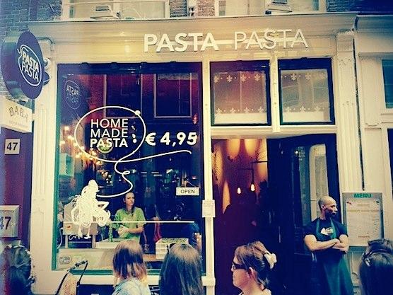 Italian Restaurant Pasta Pasta in Amsterdam