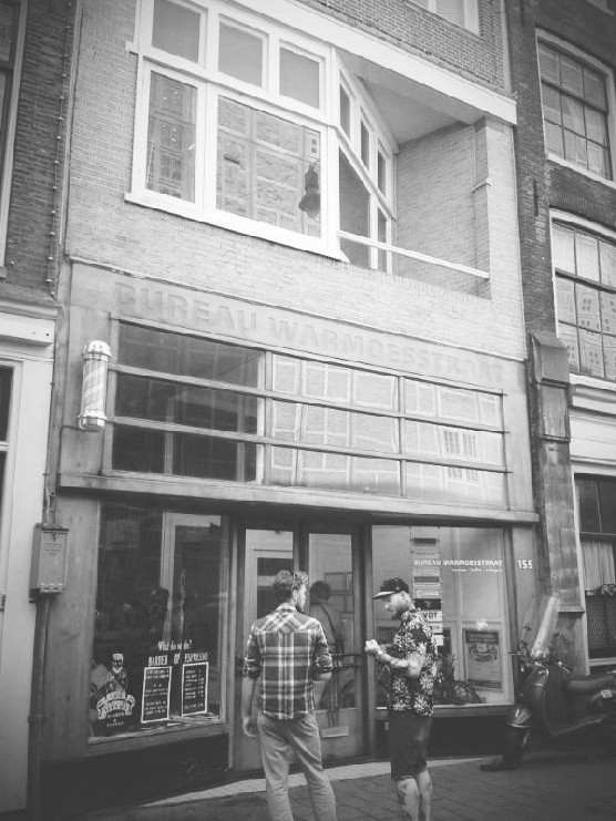 Cut Throat Barber in Amsterdam's Red Light District