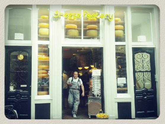 The Cheese Factory in Amsterdam's Red Light District