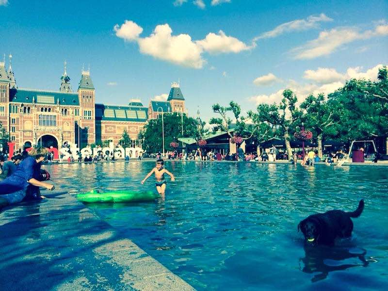 10 tips for hot summer days in Amsterdam