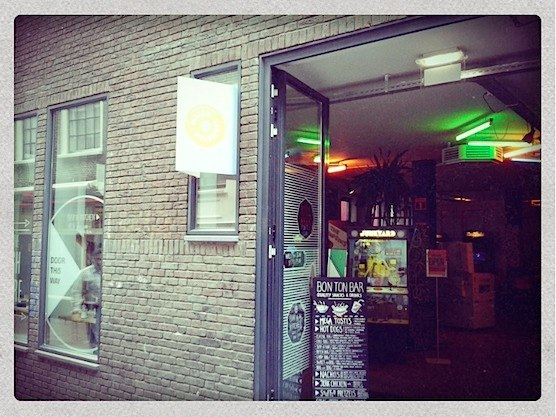 The Ton Ton Club in the hear of Amsterdam's Red Light District