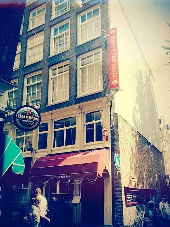 Cafe De Haven van Texel in Amsterdam