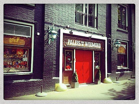 Restaurant Paleis van de Weemoed in Amsterdam