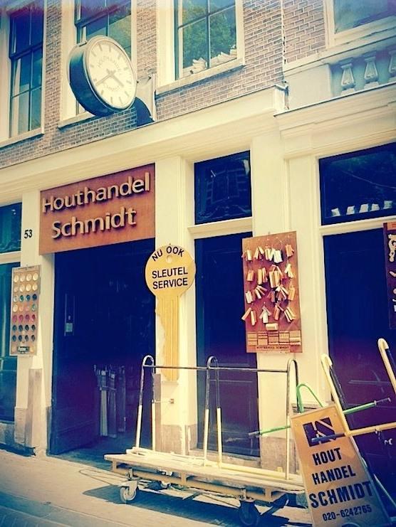 Houthandel Schmidt in Amsterdam
