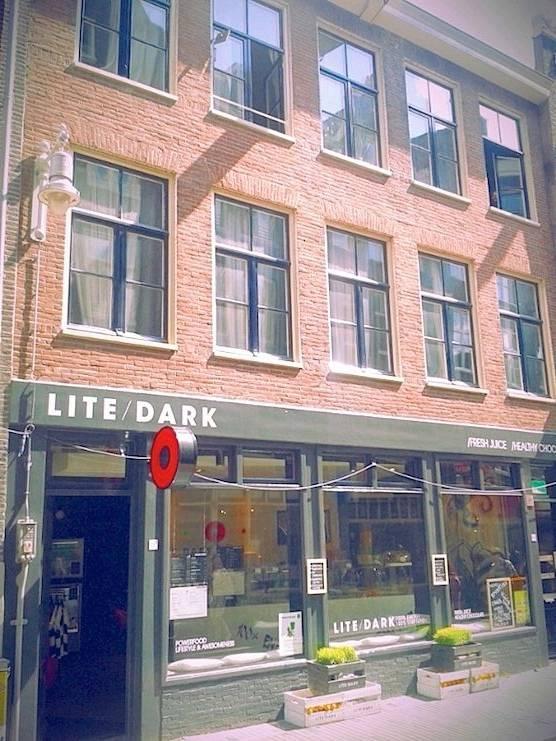 Lite/ Dark in Amsterdam's Red Light District