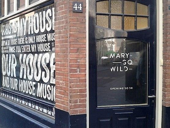 Mary Go Wild store in Amsterdam