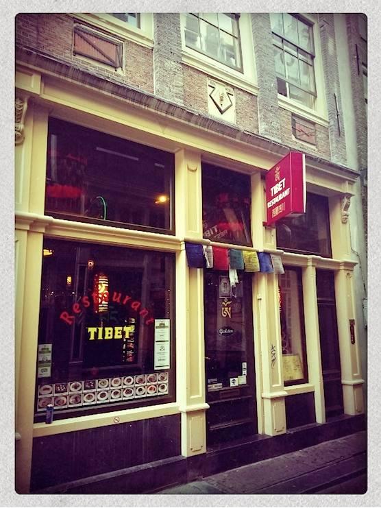 Restaurant Tibet in Amsterdam