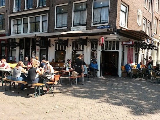 Cafe Fonteyn in Amsterdam.