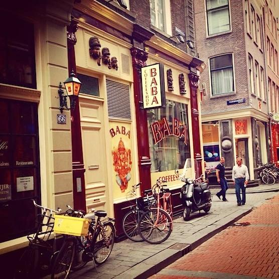 Coffeeshop Baba in Amsterdam