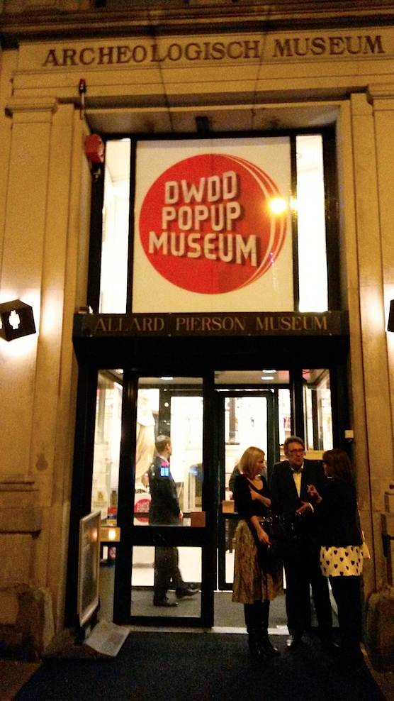DWDD Pop Up Museum in Amsterdam.