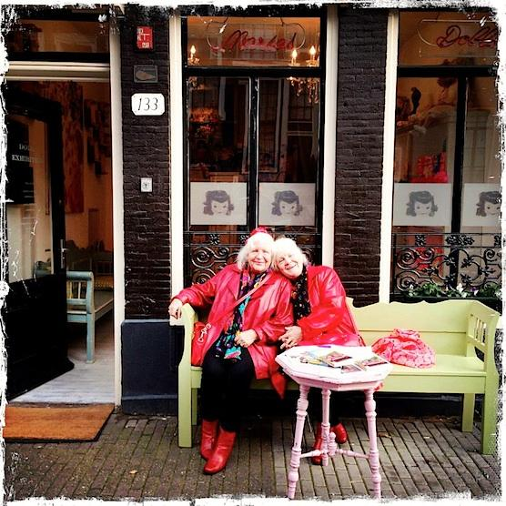 Amsterdam Old Hookers Twin Prostitutes Tour