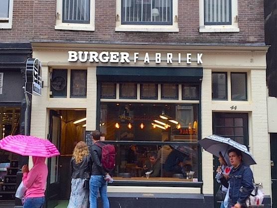 Burger Fabriek Rembrandt Square Amsterdam