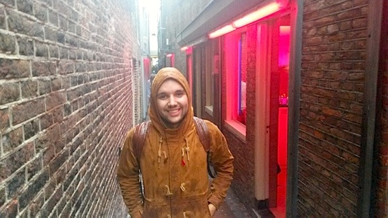 Interview with a male prostitute in the Red Light District of Amsterdam
