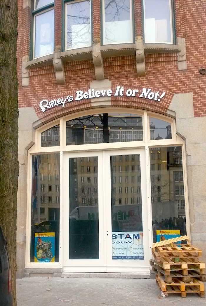 Ripley's Believe it or Not Amsterdam