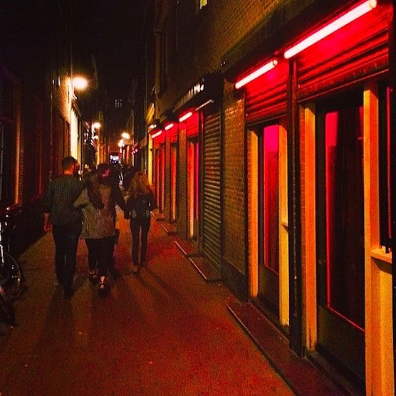 Amsterdam Red Light District News