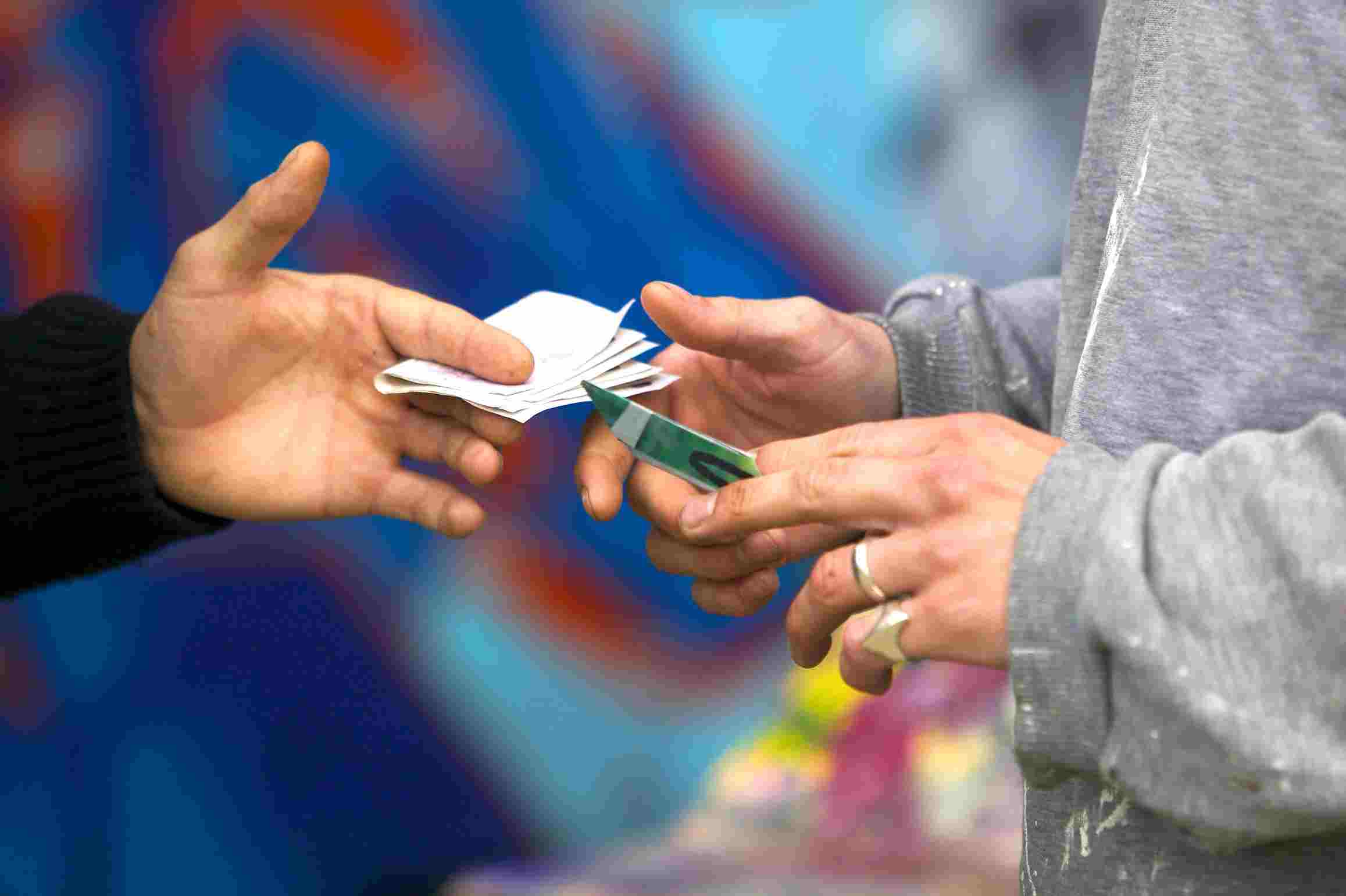Fake drug dealers in Amsterdam