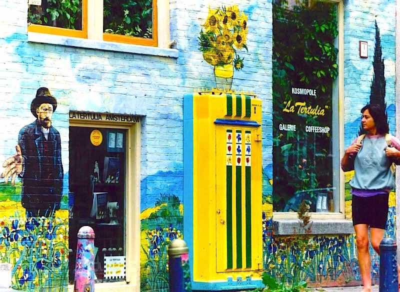 Amsterdam Coffeeshop La Tertulia Prinsengracht