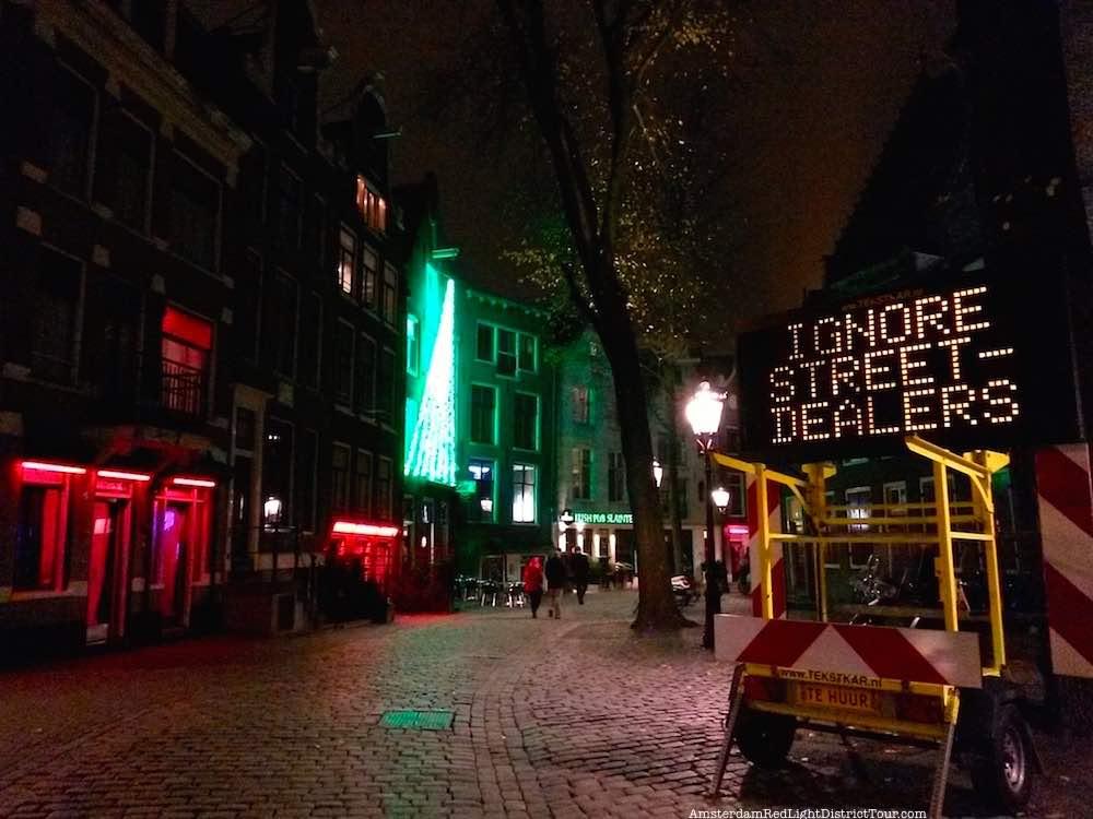 Undercover Police In Amsterdam Hunt Fake Drug Dealers