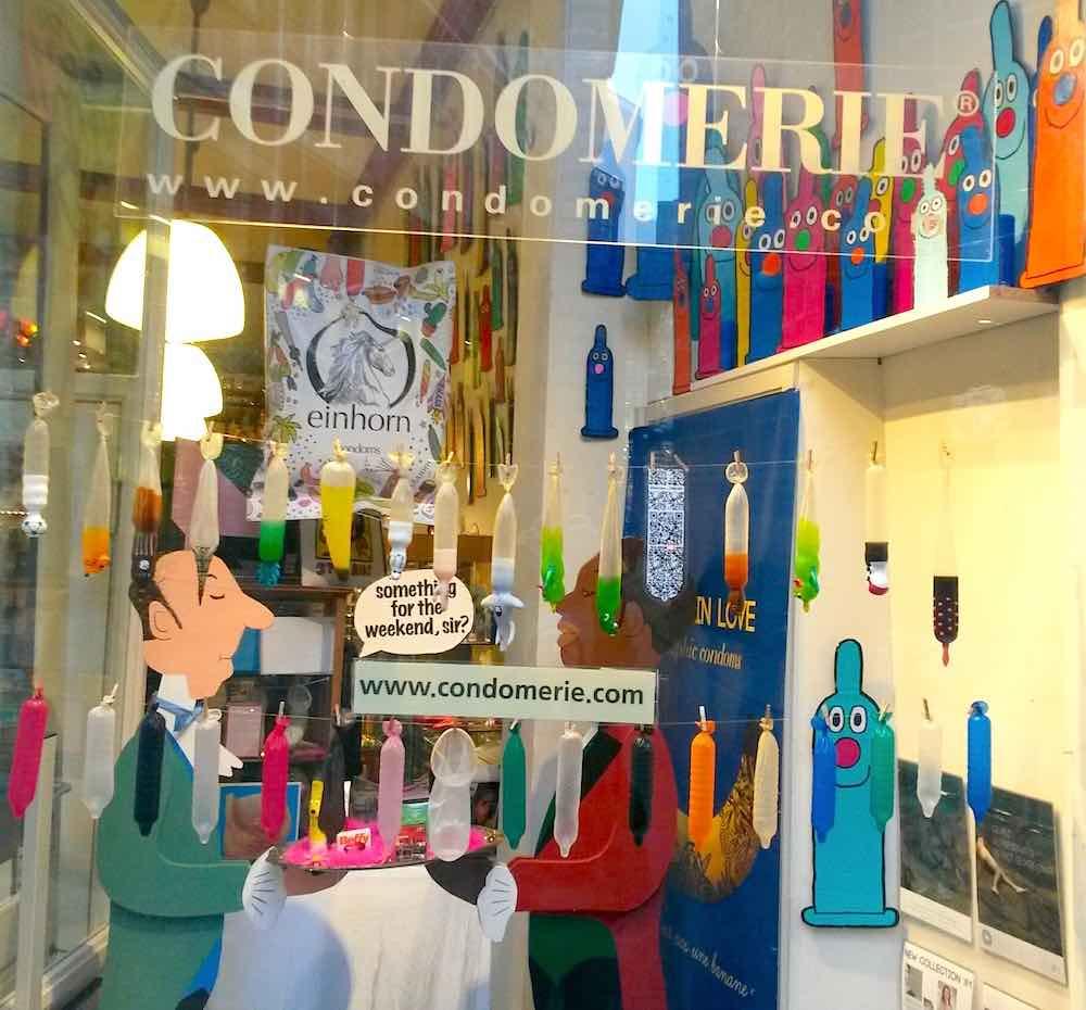 The condom store