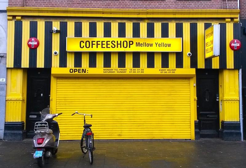 Amsterdam Coffee Shops Closing