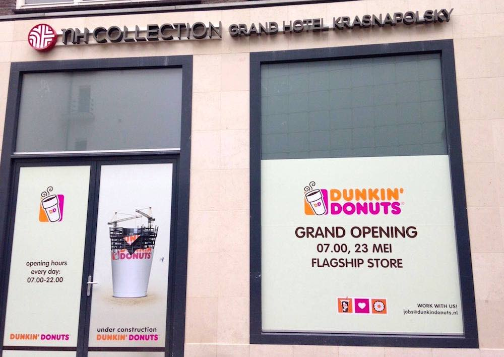 Dunkin Donuts Amsterdam | Amsterdam Red Light District