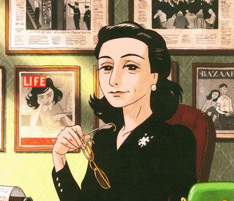 Anne Frank Comic Book