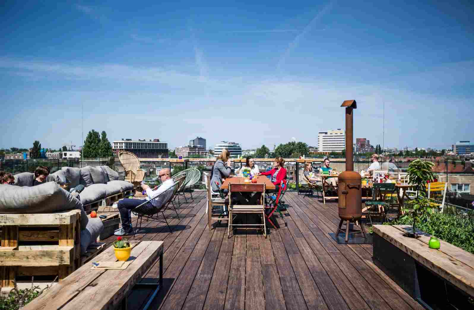 Best terraces in Amsterdam