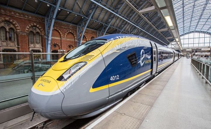 from London to Amsterdam by train Eurostar