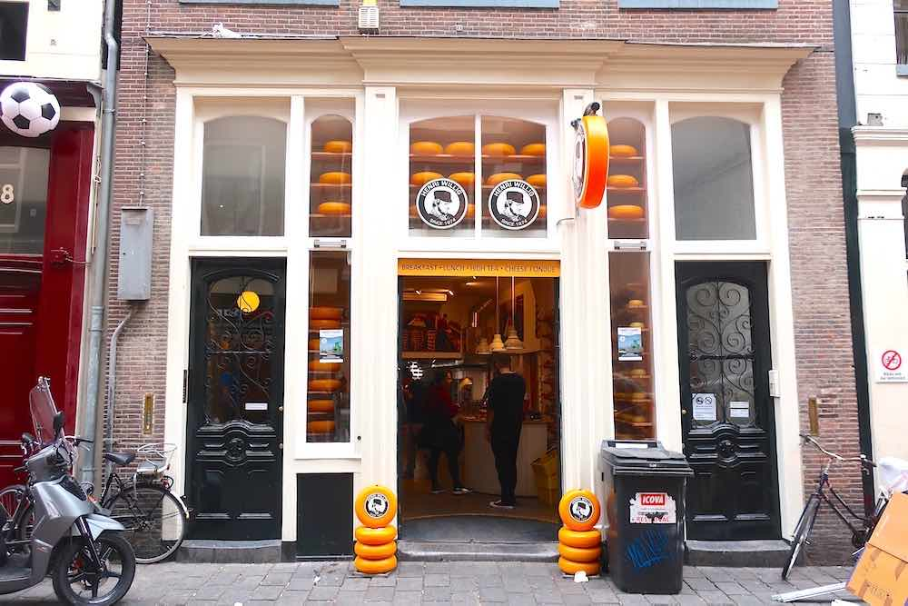 Amsterdam Cheese Shop in Red Light District