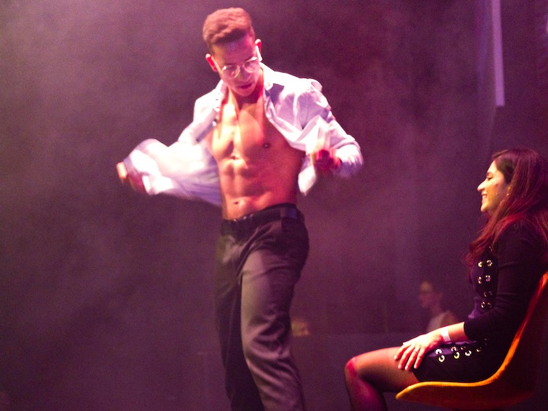 Male strip show In Amsterdam