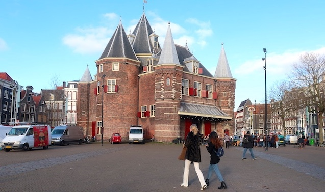 Waag Amsterdam Nieuwmarkt