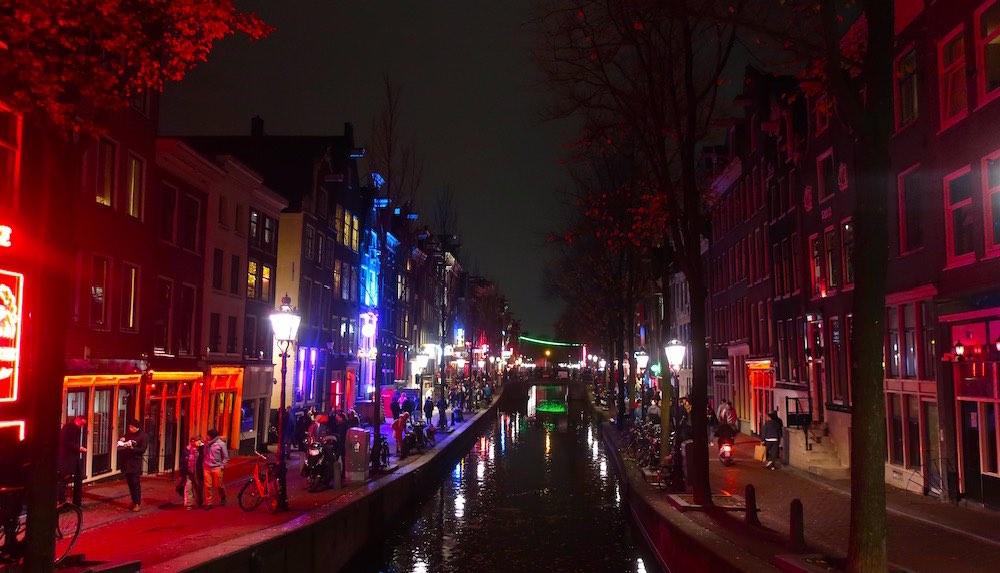 Amsterdam city of prostitutes