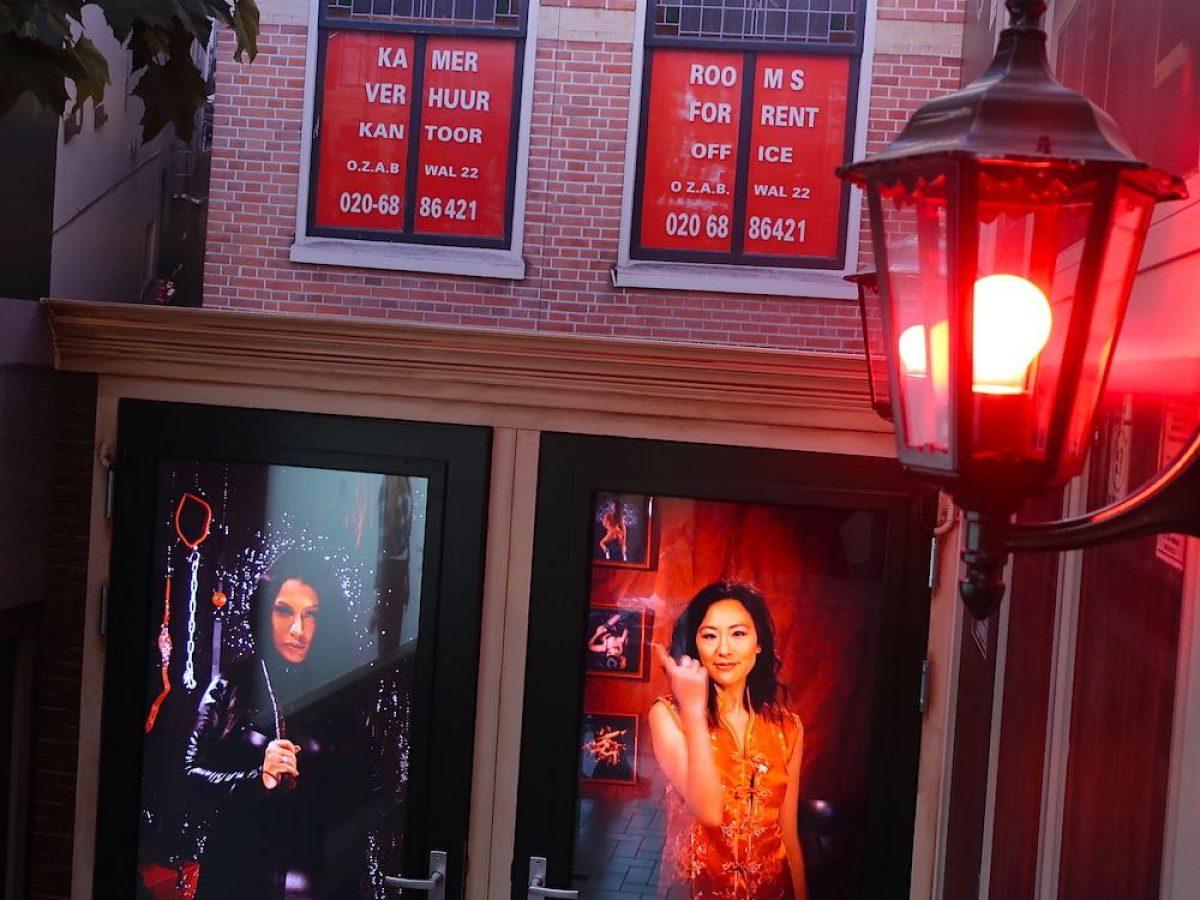 Red light street amsterdam